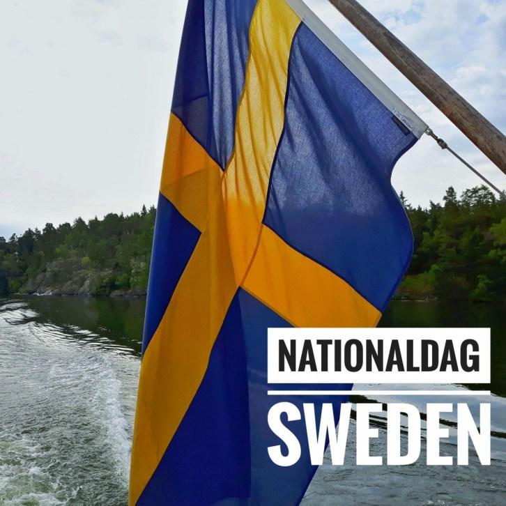 Nationaldag Sweden - Sverige