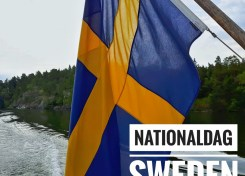 Nationaldag Sweden - Sverige