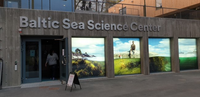 Baltic Sea Science Center in Skansen