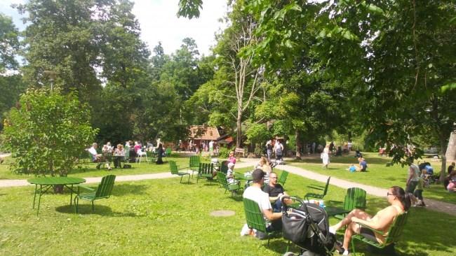 Picknicken bij Julita
