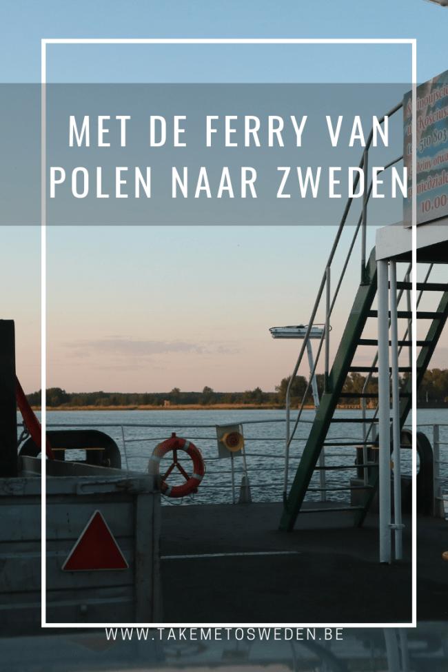 Met de ferry van Polen naar Zweden