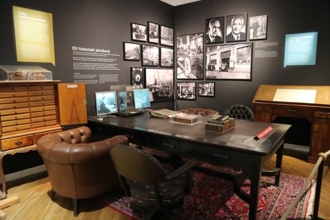 Volvo Museum Göteborg - het kantoor van de oprichters