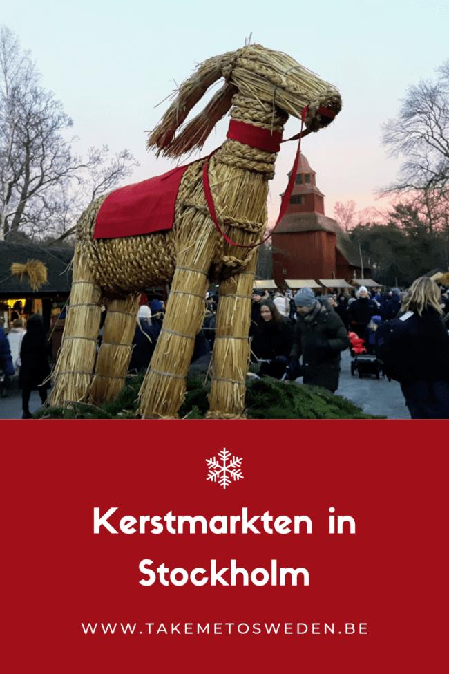 Kerstmarkten in Stockholm