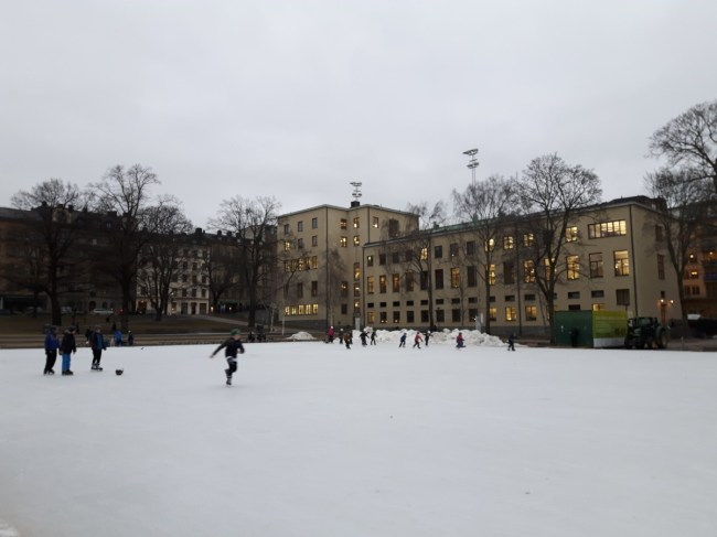 schaatsen Vasastaden