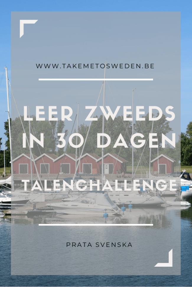 30 dagen challenge Zweeds leren #30dagenzweedsleren