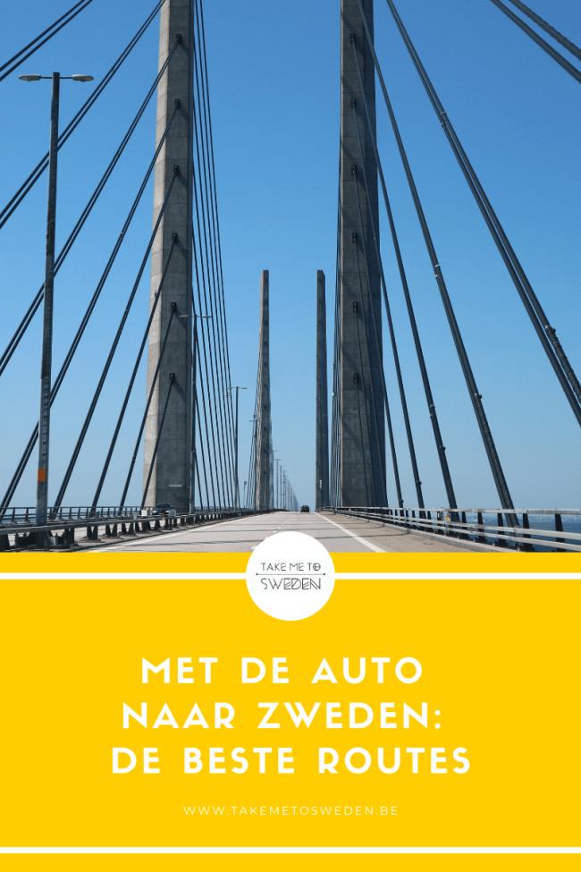Met de auto naar Zweden de beste routes