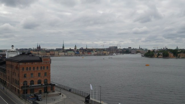 View over Stockholm from Fotografiska