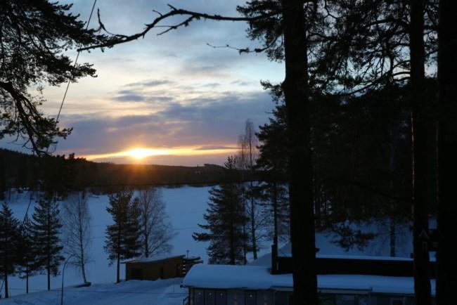 Sunrise from Bird's Nest - Granö Beckasin