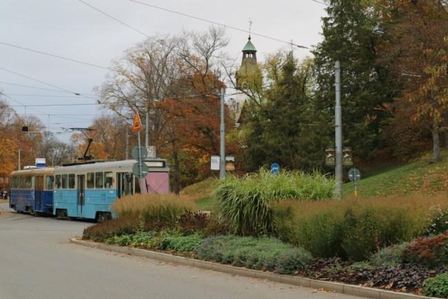 Historische trams lijn 7 Djurgården