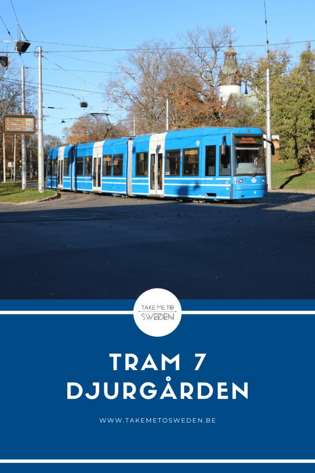 Tram 7 Djurgården Stockholm