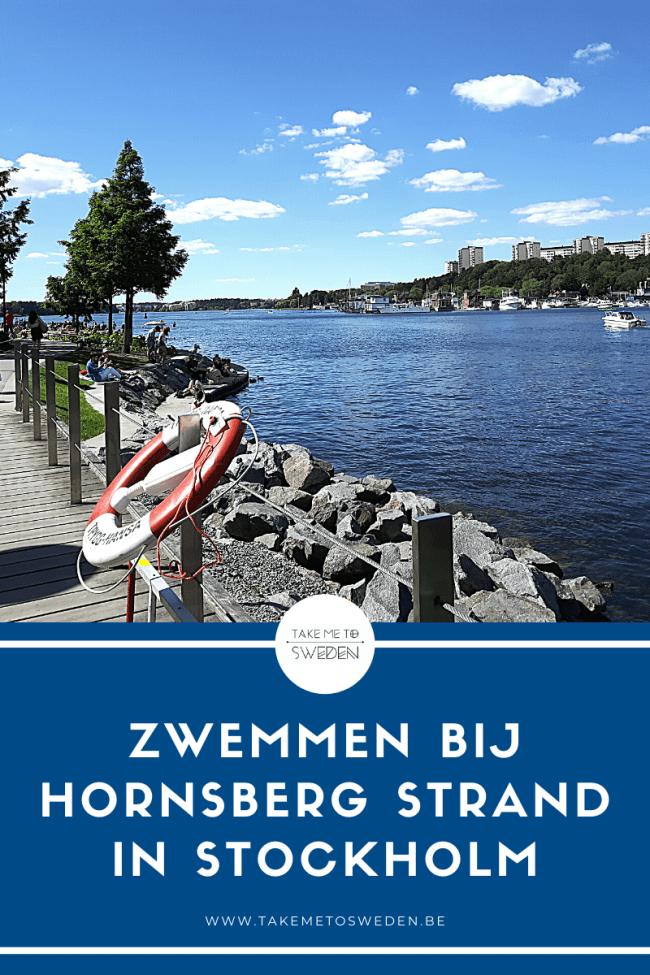 Zwemmen bij Hornsberg Strand in Stockholm