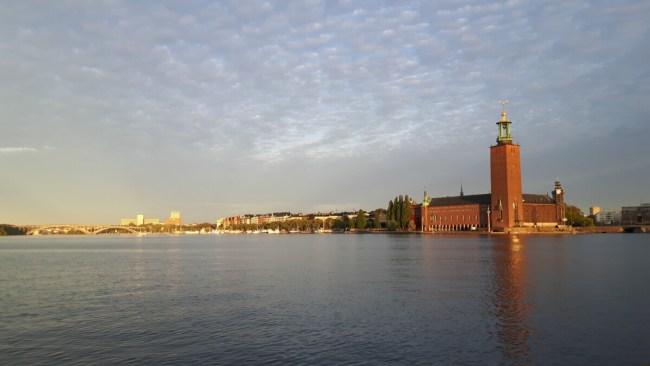 Stadshuset golden hour