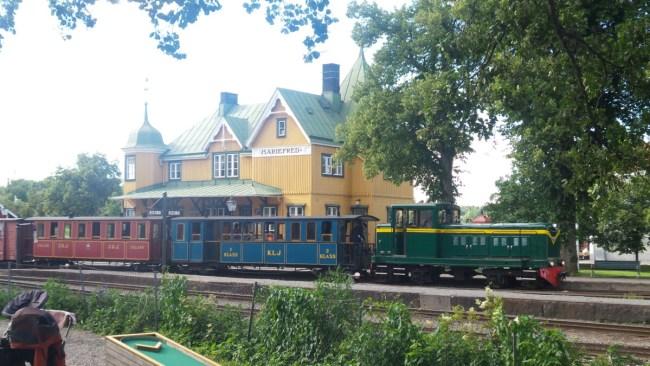 Mariefred treintje