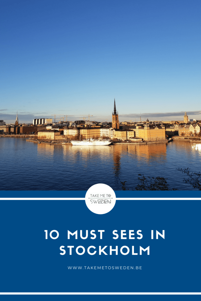 10 must sees in Stockholm