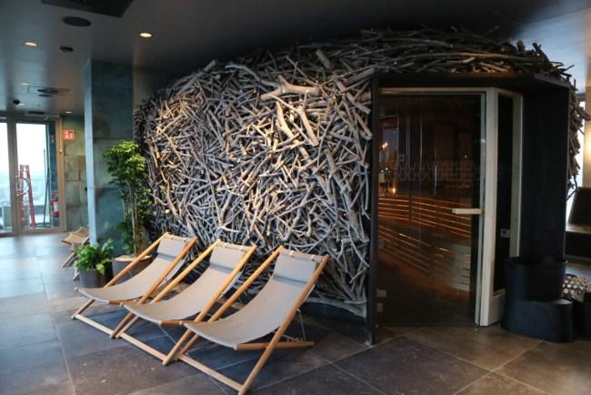 The Nest sauna