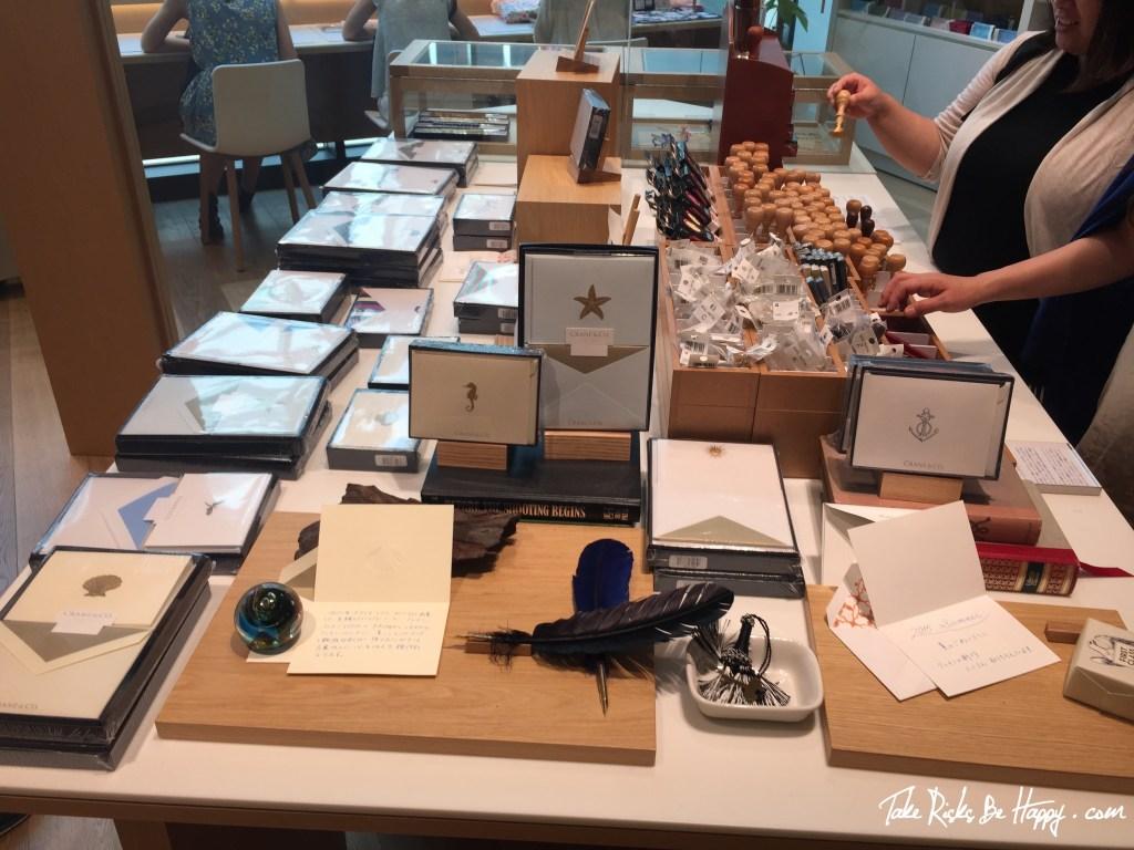 Feather Pens, Beautiful Cards, Itoya Ginza