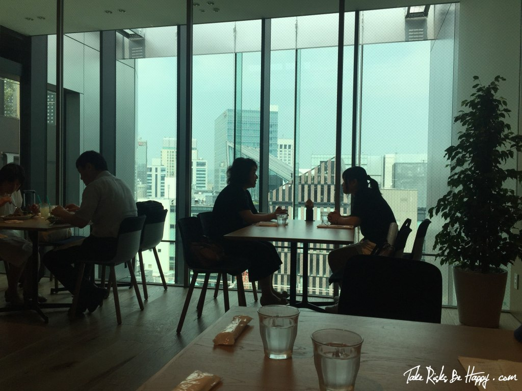 Itoya Cafe View