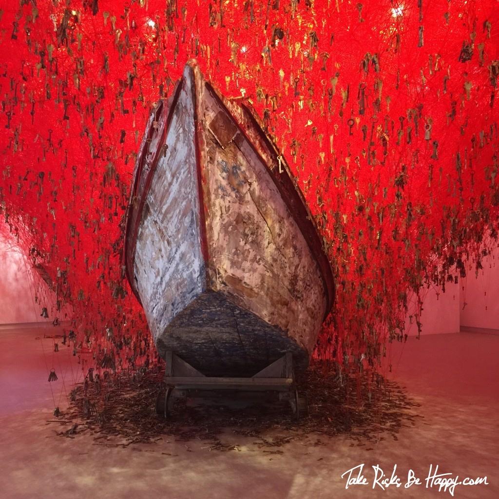 Venice Biennale Chiharu Shiota