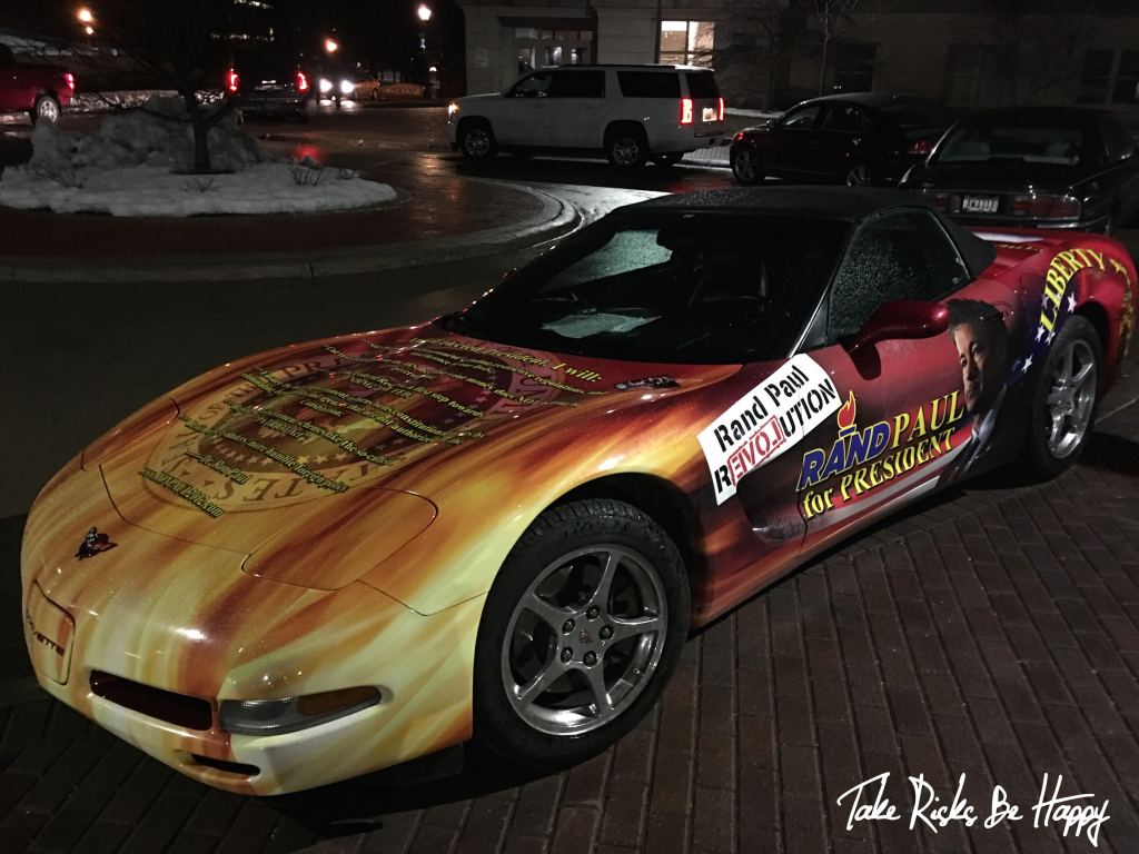 Rand Paul Corvette