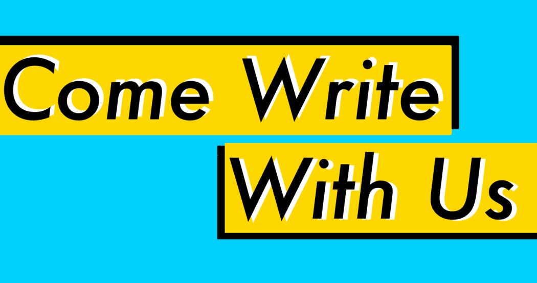 Come Write With Us