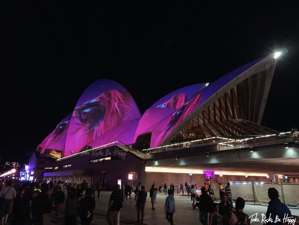 opera house sydney vivid