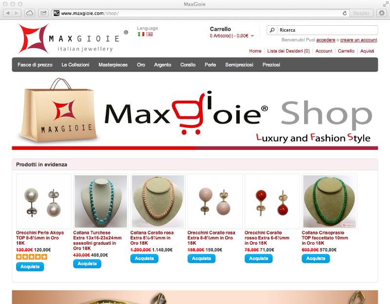 MaxGioie shop
