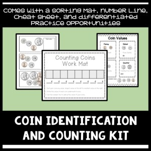 counting and identifying coins