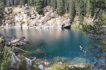 Great place to explore - Horseshoe Lake in Jasper National Park, Canadda