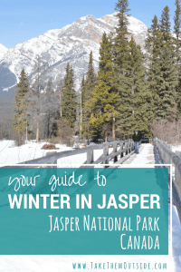 Use this list of fun things to do while visiting Jasper in the winter (Jasper National Park, Canada): Skiing, skating, ice walks, stargazing, fireworks, and more.  Read this post for more ideas and tips.
