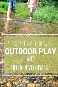 There is a growing body of child development experts who are advocating the need for increased outdoor play time. Read more here and find out why your kids need to get outside.