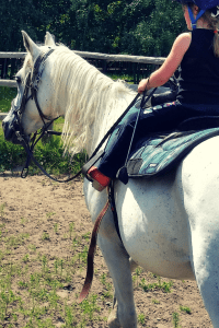 Kids and Horseback Riding | Sometime kids just need something new and exciting to get them outside more. Trying new things can be just the motivation your family needs to make room for more outdoor play.