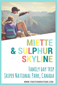 Take a day trip to the Miette Hot Springs and up Sulphur Skyline Trail in Jasper National Park, Canada