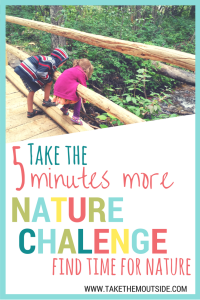 Take the Family Nature Challenge and bring more nature into your life | #naturechalleng #getoutside #lovenature