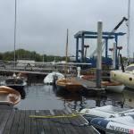 The launching dock