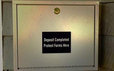 The Dreaded Protest Box. . .