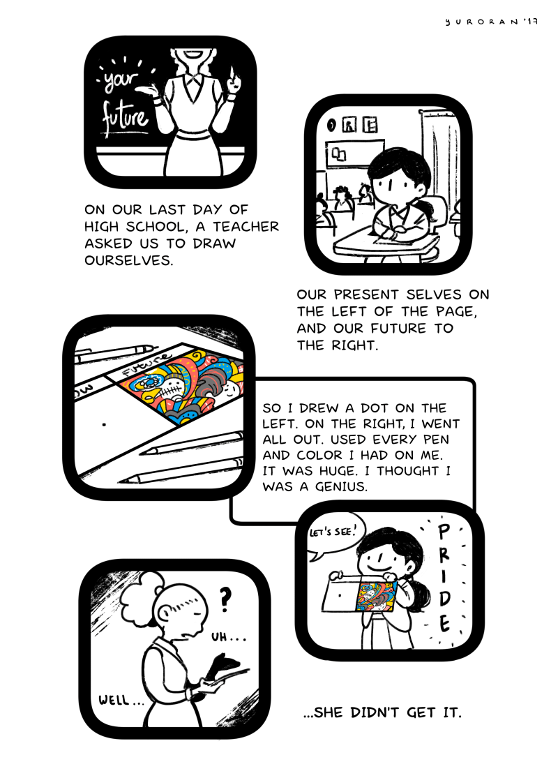 Wrapping Up Mental Health Awareness Month Enjoy This Brilliant Comic From Venezuelan Illustrator Yuroran