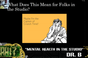 Catch Dr. B's Talk on Mental Health in the Studio from Indie Revolution Expo 2017