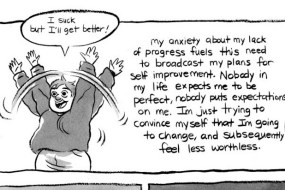 Self-Compassion is More Important Than Self-Improvement In This Comic