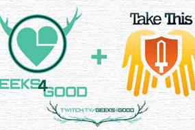 Geeks4Good Kicks Off a New Season in Support of Take This