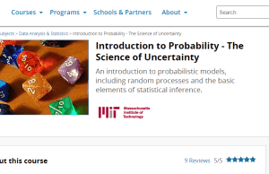 Introduction to Probability – The Science of Uncertainty