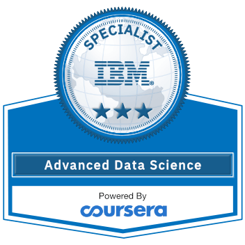 Advanced-Data Science with IBM Specialization
