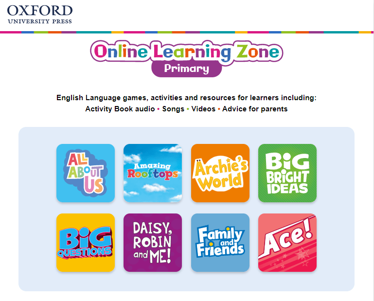 online learning Zone Primary