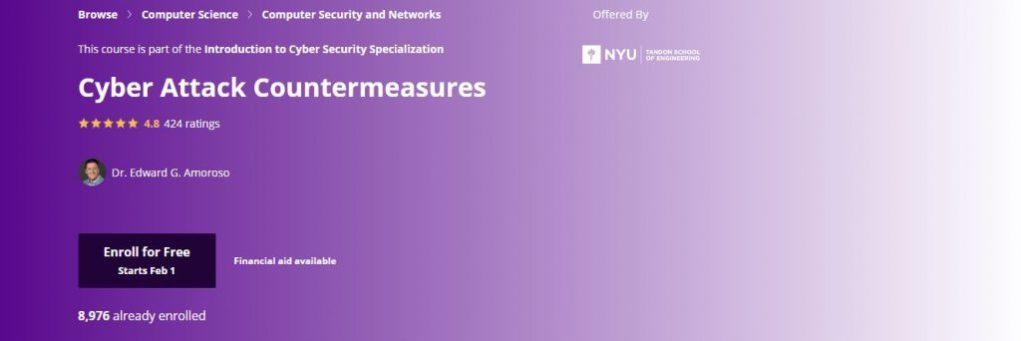 NYU Cyber Attack Countermeasures Course