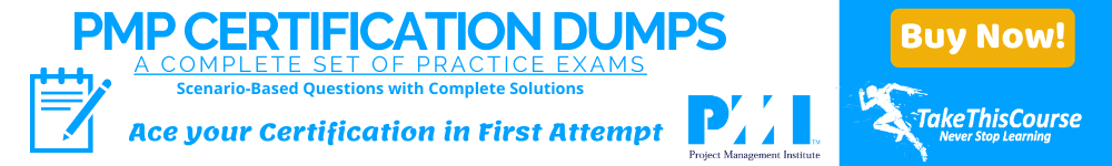 PMP Certification Exam Dumps