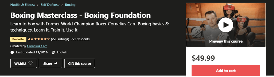 Boxing Masterclass - Boxing Foundation