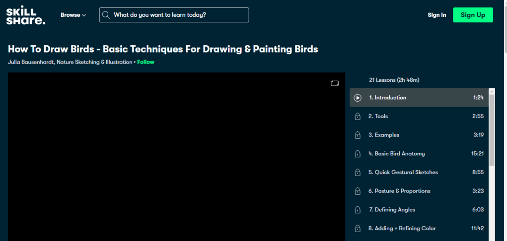 How To Draw Birds - Basic Techniques For Drawing & Painting Birds