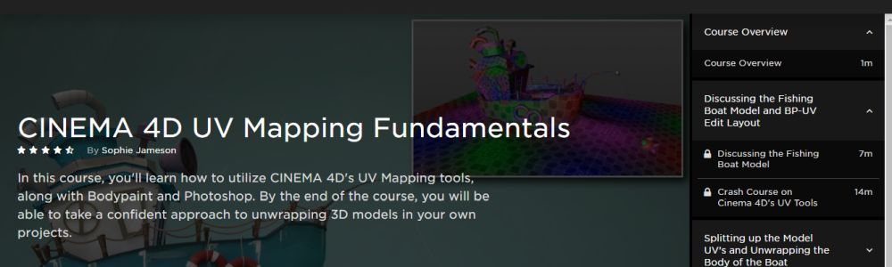 Pluralsight Cinema 4D Mapping course