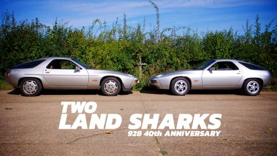 Take to the Road Feature Two Land Sharks Porsche 928 40th Anniversary