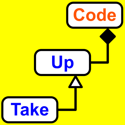 Take Up Code Podcast logo