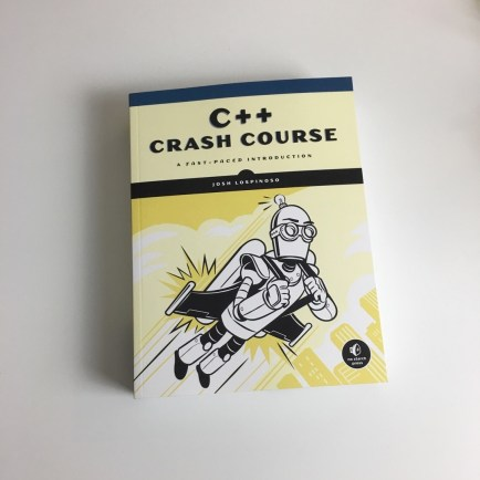 C++ Crash Course Book